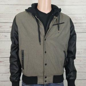 Hurley Coat S Double Layer w Hood